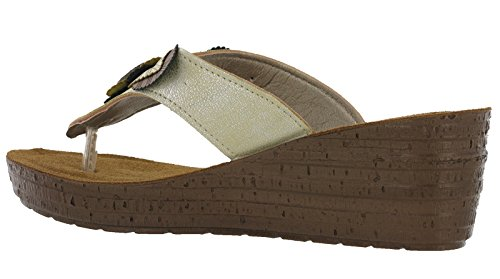 Sandalias IN 22 Mujer Sand D BLU Gm018 GM ISqwxfgST