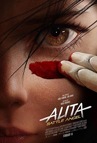 Alita Battle Angel Movie Poster 18'' x 28 - Poster Movie Angel