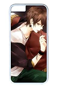 Anime Handsome Boy 08 Cute Hard Cover For iPhone 6 Plus Case ( 5.5 inch ) PC White Cases in GUO Shop