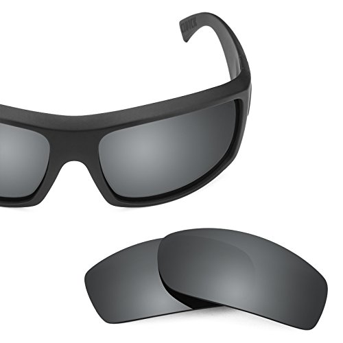 Opciones Von Zipper Mirrorshield Clutch repuesto Chrome Revant múltiples de para Polarizados Lentes — Negro q86wI6