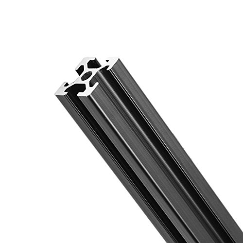 Yingte 800mm Length Black Anodized 2020 T-Slot Aluminum Profiles Extrusion Frame For CNC by Yingte (Image #4)