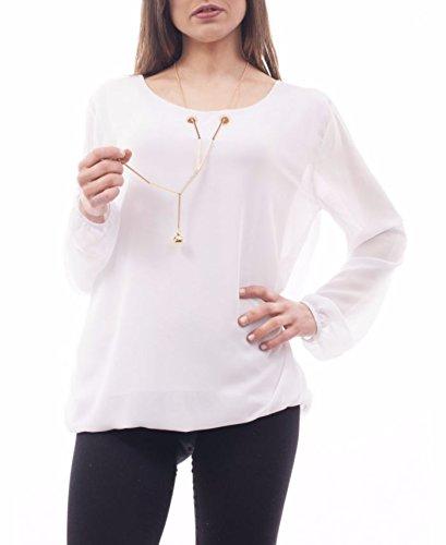 Dayana - Camisas - para mujer blanco