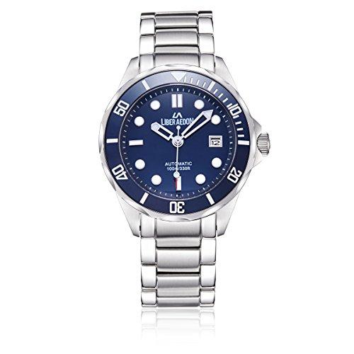 LIBER AEDON LA3703-5553S Men's Mechanics Wrist Watches Color Bl