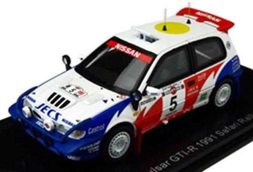 LUMYNO 1/43 Nissan Pulsar GTI-R 91 Safari Rally   5 S.Blomqvist / B.Melan (japan import)