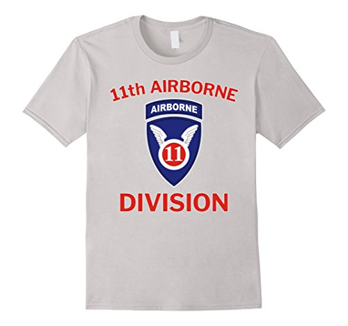 Mens US Army 11th Airborne Division Vintage T-Shirt Medium (11th Airborne Division)
