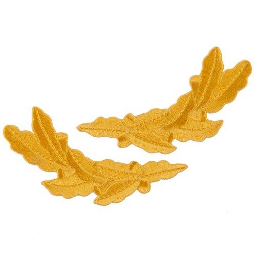Oak Leaves Emblem Pair - Gold Ace -