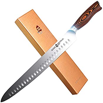 Amazon.com: Ham Carving Knife with Anti-accident Protection ...