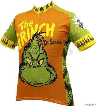Amazon.com   Retro Image Apparel The Grinch Jersey Lg   Athletic ... d6fe09dd4