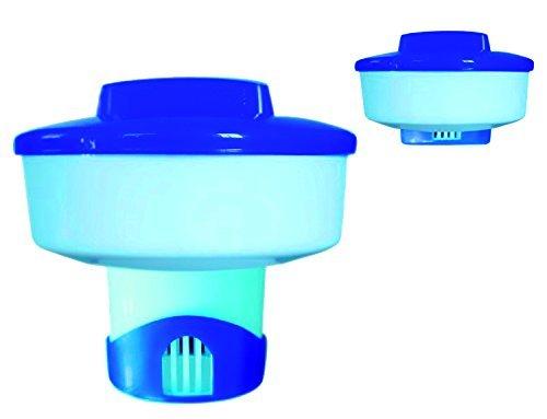 well2wellness® Ausziehbarer Chlor Dosierschwimmer/Chlordosierer für 200g Chlortabletten [Pool] + Sauna BRÄUNIG GmbH