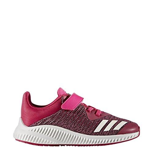adidas FortaRun EL K - Zapatillas de deportepara niños, Rosa - (ROSFUE/FTWBLA/ROSIMP), -3