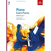 Piano Exam Pieces 2021 & 2022, ABRSM Grade 7: Selected from the 2021 & 2022 syllabus