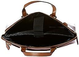 Lodis Stephanie Rfid Under Lock and Key Jamie Work Brief W Laptop Shoulder Bag, Chestnut, One Size