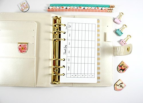 personal size food log filofax personal planner inserts kate spade personal inserts pre punched personal planner inserts buy online in oman