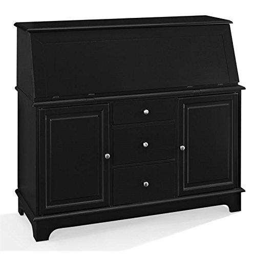 Crosley Furniture Sullivan Secretary Desk - Black ()