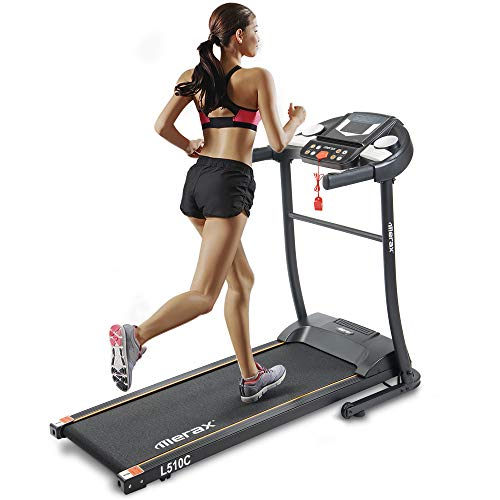 (Merax Easy Assembly Folding Electric Treadmill Motorized Running Machine)