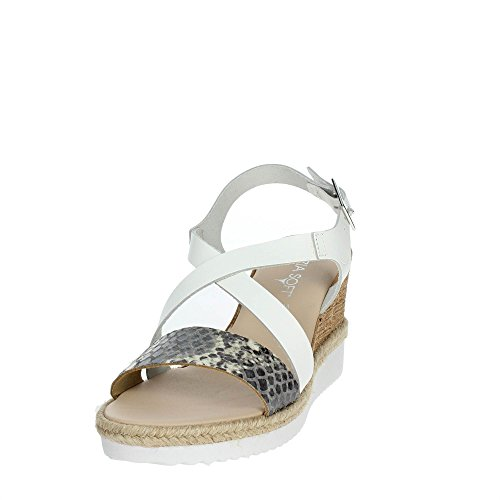 Cinzia Soft IG9738 001 Sandale Femme Blanc oeBasUIG
