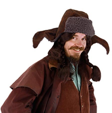 elope Lord of the Rings The Hobbit Bofur Hat (Dwarf Costume Hobbit)