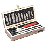 X-ACTO Products - X-ACTO - Knife Set, 3 Knives, 10 Blades, Carrying Case - Sold As 1 Each - Three styles with assorted blades that fit all three knives. - Convenient carrying case. -