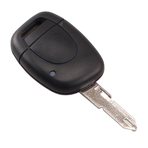 Clé de commande à distance pour Renault Clio Kangoo Twingo 1bouton contrôle + lame vierge lovely