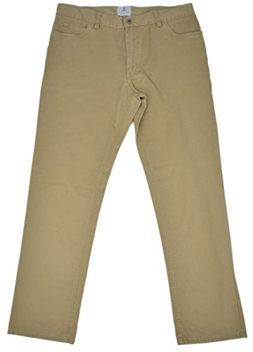 turnbull-asser-mens-twill-cotton-straight-leg-casual-pants-khaki-38w-x-32l