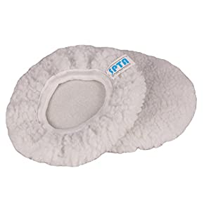 SPTA Car Polisher Bonnet (5 to 6 Inch) Max Waxer Pads Polishing Pad Sets for Most Car Polishers Pack of 5Pcs