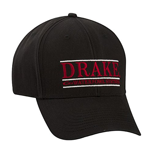 Drake Gameday Bar Logo Cap (BLK/RED) (Drake Duck Hunting)