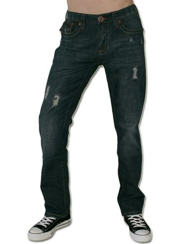 LAGUNA BEACH JEANS CO. Herren Jeans Hose - PHANTOM HUNTINGTON BEACH -30