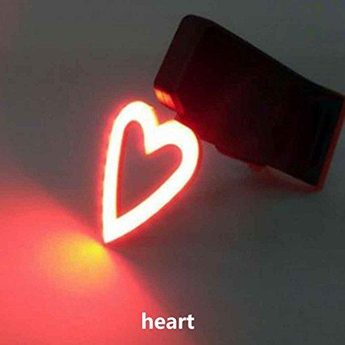 Heart Led Tail Lights