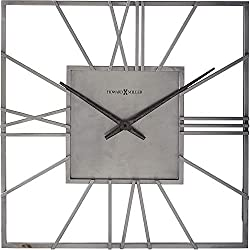 Howard Miller Lorain Wall Clock 625-611 - Oversized & Modern with Quartz Movement
