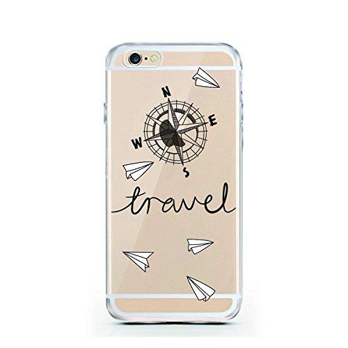Iphone 6 6S Caso por licaso® para el patrón de Iphone 6 Harry Potter Hogwarts Magia Magico TPU de silicona ultra-delgada proteger su Iphone 6 es elegante y cubierta regalo de coches Travel