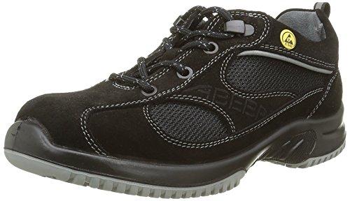 Abeba 31701-37 misura 93,98 cm (37) ESD-15,24 cm (6) Low-Scarpe di sicurezza, colore: nero