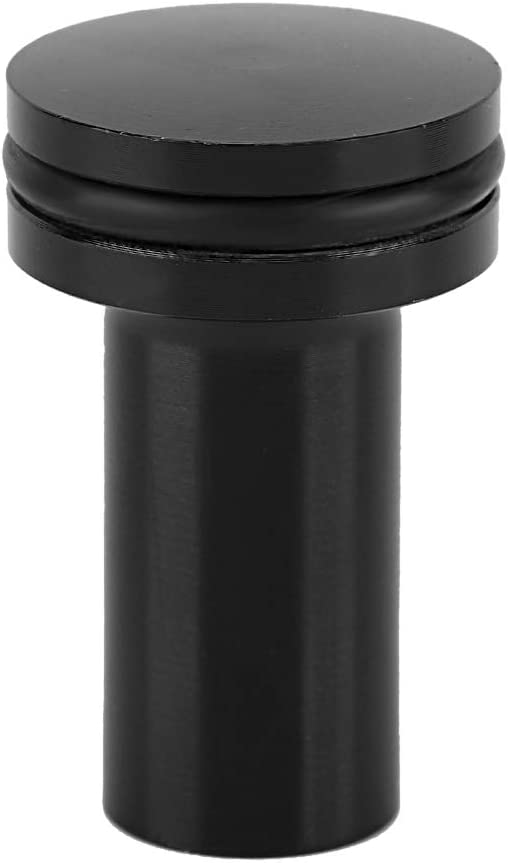 Suuonee Handbremsknopf Notbremsknopf Universal Aluminiumlegierung E-Brake Bremsknopf Handbremse Not-Drift-Knopf-Bypass schwarz