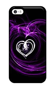Durable Defender Case For Iphone 5/5s Tpu Cover(love)