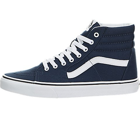 1c617c887b8 Galleon - Vans VN-0TS9KO7  SK8-Hi Dress Blue   True White Skateboarding  Shoes (7.5 D(M) US Men