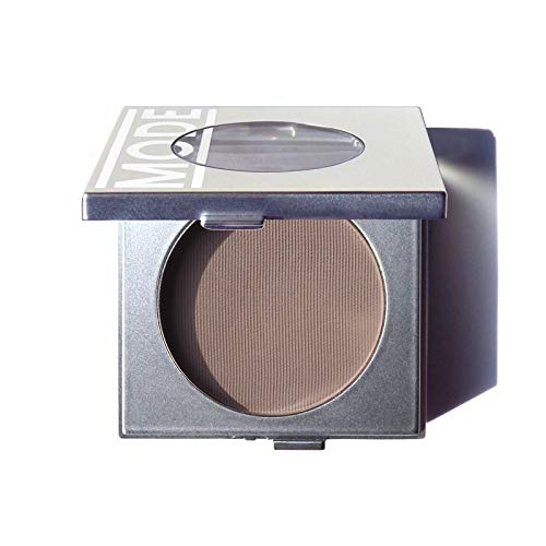 Mode Cosmetics, Eyeshadow Absolute, Fundamental (Matte Grey Brown Taupe) Natural Pressed Powder Eye Shadow Single, Potent Color, Exceptional Wear, Skincare Ingredients, Cruelty Free, Vegan, Made USA