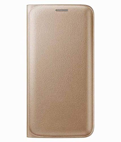 on sale fbb26 7136a MGR Premium Leather Flip Cover Case (Gold) for Samsung Galaxy Grand 2
