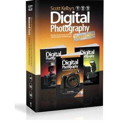 SCOTT KELBY'S DIGITAL PHOTOGRAPHY, 3-VOLUME SET BY Kelby,...
