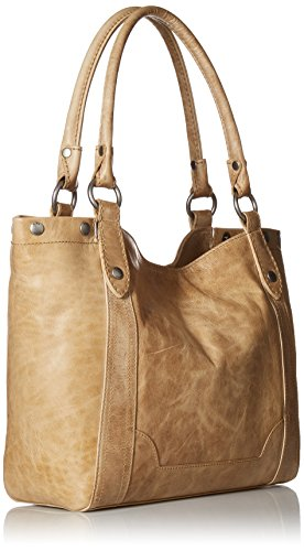 Leather Shoulder Melissa Handbag Sand FRYE xaHww