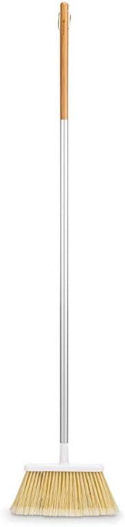 white Full Circle Service Bamboo Broom
