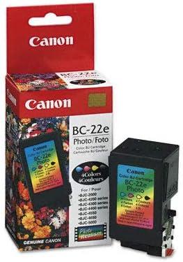 Original Canon 0902 A 002 / BC-22 E Cabezal de impresión - foto para BJC 2000, 2100, 2115, 2120, 400, 4000, 410, 4100, 411, 420, 4200, 430, 4300, 4302, 4304, 4400, 455, 4550, 4650, 5000, 5100; CFX B 380; I IJ 5100; Multipass C 5000, C 530, C 545, C ...
