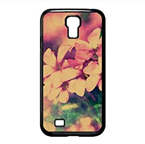 lintao diy Tiny Pink Flowers Watercolor style Cover Samsung Galaxy S4 I9500 Case (Flowers Watercolor style Cover Samsung Galaxy S4 I9500 Case)
