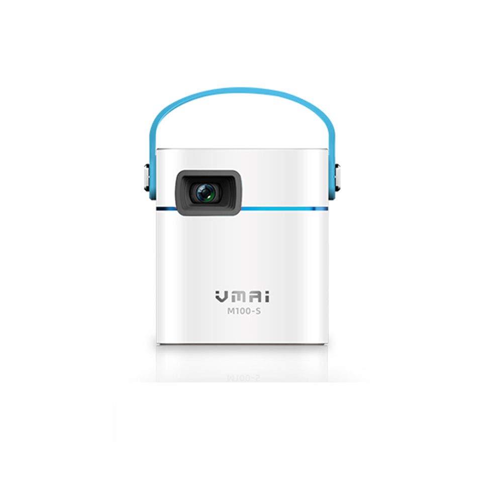DJG Mini proyector Inicio Pequeño teléfono móvil portátil Ver ...