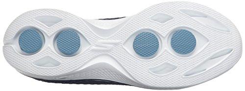 4 Blue Zapatillas Nvw Kindle Go Multicolored Walk Skechers Mujer White wTPqvnEx0