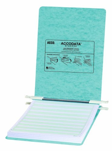 ACCO Pressboard Hanging Data Binder, 9.5 x 11 Inches Unburst Sheets, Light Blue (54112) Color: Light Blue, Model: ACC54112, Office/School Supply Store