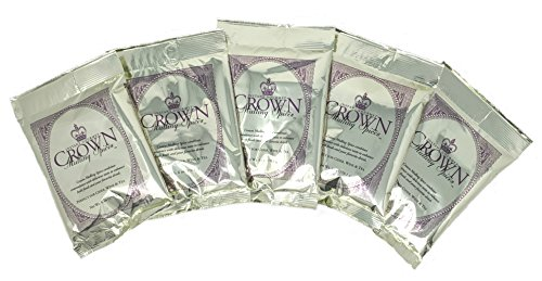 Crown Mulling Spices/Instant Gourmet Mulling Spice/Apple Cider, Wine, and Tea/Vegan and Gluten-free/6 ounce/Perfectly Spices 1 Gallon of Your Favorite Beverage (5 Pack) ()
