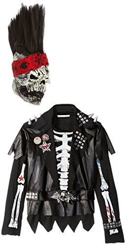 Skeleton Halloween Costume Man (California Costumes Dead Man Rockin Child Costume, Large)