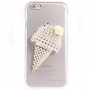 ZXM- caso duro helado diseño pc perla para el iphone 6 más