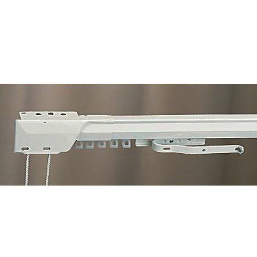 "66"" - 120"" One Way Draw Adjustable Traverse Curtain Rod - Left"