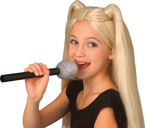 Microfono Glitter  Costume Accessory...