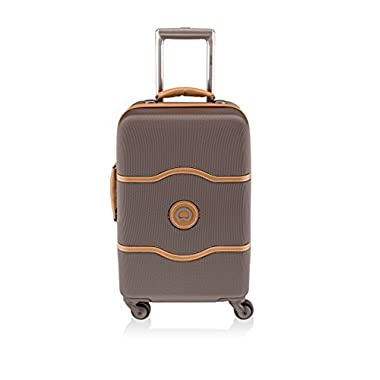 Delsey Luggage Chatelet 19 Inch International Carry On Luggage, Brown